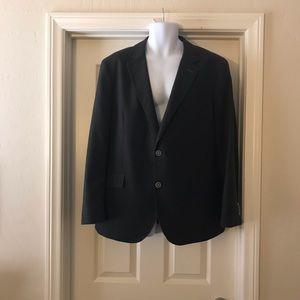 Men's Tailorbyrd Dark Gray Blazer Jacket Size 44r